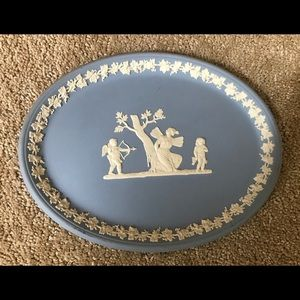 Oval Vintage Wedgewood Never Used Oval Plate